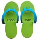 Aspire Promotional Eva Flip Flops Disposable Folding Foam Nail Spa Slippers Pedicure Flip-flop