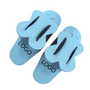 Aspire Customized Disposable Eva Folding Slippers Nail Foam Flip Flops Spa Favors Pedicure Flip-flop
