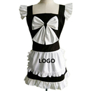 Aspire Customized French Style Cute Maid Aprons for Women Funny Kitchen Apron Party Accessories