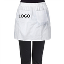 Aspire Customized Waist Garden Aprons Two Pockets Half Cotton Party Costume for Cafe and Restaurant