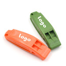 GOGO Custom Marine Whistle ABS Plastic Safety Whistle for Boating Camping Hunting