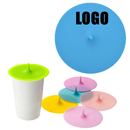 Custom Silicone Cup Lids, Anti-dust Cup Cover, Airtight Seal Mug Cover, Food Grade Cup Lids for Coffee Tea