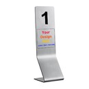 Aspire Custom Stainless Steel Custom L Numbers / Table Number / Table Signs