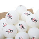 GOGO 3-Star Table Tennis Balls, 40mm Advanced Training Ping Pong Ball