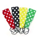 Alice 4PCS White Dot Lovely Hair Bands Headband Braid Band Assorted Colors