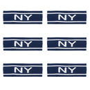 Alice Fashion New York / NY Headband, Wide Hair Band 6 PCS