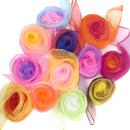 Aspire 60Pcs Kids' Rhythm Scarves Dancing Scarves Performance Props Accessories (Multi Vibrant Colors)