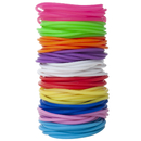 GOGO 100 Pcs Jelly Bracelets for Youth, 8