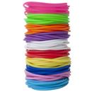 GOGO 100 Pcs Jelly Bracelets for Youth, 8