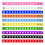 GOGO 10 PCS Adult Adjustable Silicone Bracelets for Shoe Charms Rubber Wristband Elastic Bands - Mixed Colors