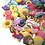 GOGO 10 PCS Rubber Bracelets for Kids Adjustable Wristbands Shoe Charms Party Favors - Mixed Colors