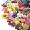 GOGO 10 PCS Adjustable Silicone Wristband Kids Bracelets Fit For Shoe Charms Party Gift - Mixed Colors