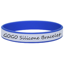 GOGO Writable Wrist Bands Silicone Bracelets ID Wristbands Waterproof Events Identification Bracelet