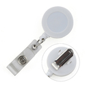 GOGO Spring Clip Round ID Card Badge Reel