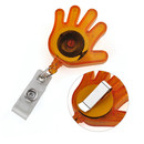 GOGO Hand Shape Name Holder Reel With Belt Splint