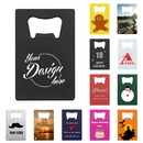 Custom Bottle Opener Design Your Own Stainless Steel Credit Card Promotional Bottle Openers
