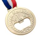 Aspire Golden Novel Medal Bottle Openers, Party Favor / Bar Gift