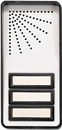 Alpha Communications 3-Button Compact Door Panel-2W