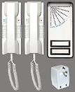 Alpha Communications 2-Handset Doorphone Kit-2 Wire