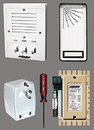 Alpha Communications 1-Unit Entry Intercom Kit+Wire