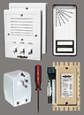 Alpha Communications 2- Unit Apt. Intercom Kit+Wire