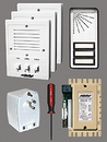Alpha Communications 3- Unit Apt. Intercom Kit+Wire