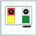 Alpha Communications 2 Button Room Status Station