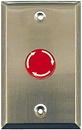 Alpha Communications SF539SS 1-Gang Mush Button Stat-St St