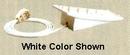 Alpha Communications Desk Adaptor For Handset-White