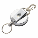 GOGO Heavy Duty Self Retracting ID Badge Key Reel