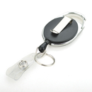 GOGO Carabiner Badge Holder Reels With Back Splint Office Business Card Reel