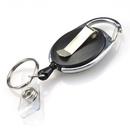 GOGO 1000/Pack Carabiner ID Key Chain Badge Holder Reels
