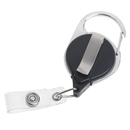 GOGO Retractable Badge Reel Carabiner Clip for Id Card Holder Wholesale Lot