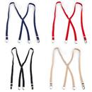 TopTie 4pc Adjustable Clip Suspender For Men & Women
