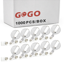 GOGO Wholesale Retractable Name Tag Holder Reel Key Clip