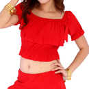 Wholesale BellyLady Belly Dance Tribal Top With Ruffles
