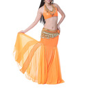 BellyLady Mermaid Maxi Skirt For Belly Dancer, Tribal Dancing Skirt