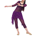 BellyLady Belly Dance Hip Scarf, Lace Belly Dance Skirt