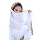 BellyLady Stunning Handmade Chiffon Belly Dance Veil, For Practice