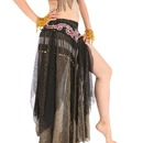 BellyLady Belly Dance Chiffon Glitter Skirt with Side-opening