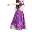BellyLady Kid Tribal Belly Dance Costume, Tribal Top And Embroidered Skirt