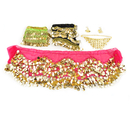 BellyLady Wholesale Lots Of 3 Gold Coins Belly Dance Hip Scarves & Necklace