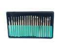 ABS Import Tools 20 PIECE DIAMOND PIN SET WITH 1/8