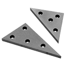 ABS Import Tools 2 PIECE SOLID ANGLE PLATE SET (3402-0016)
