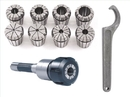 ABS Import Tools R8 10 PIECE ER-40 SPRING COLLET CHUCK SET (3900-0004)
