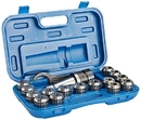 ABS Import Tools #40 17 PIECE ER-40 SPRING COLLET CHUCK SET- NMTB TAPER 40 (3900-0540)