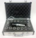 ABS Import Tools ER-32 CAT 40 V-FLANGE SPRING COLLET CHUCK SET (3900-4032)