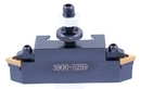 ABS Import Tools NO.16E-THREADING CUT HOLDER FOR TRIANGULAR CARBIDE INSERTS (3900-5259)