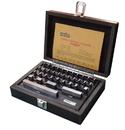 ABS Import Tools 36 PIECE GRADE AS-0/2 RECTANGULAR STEEL GAGE BLOCK SET (4101-0002)
