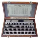 ABS Import Tools 81 PIECE SQUARE STEEL GAGE BLOCK SET GRADE 3/GRADE AS-1 (4101-0005)
